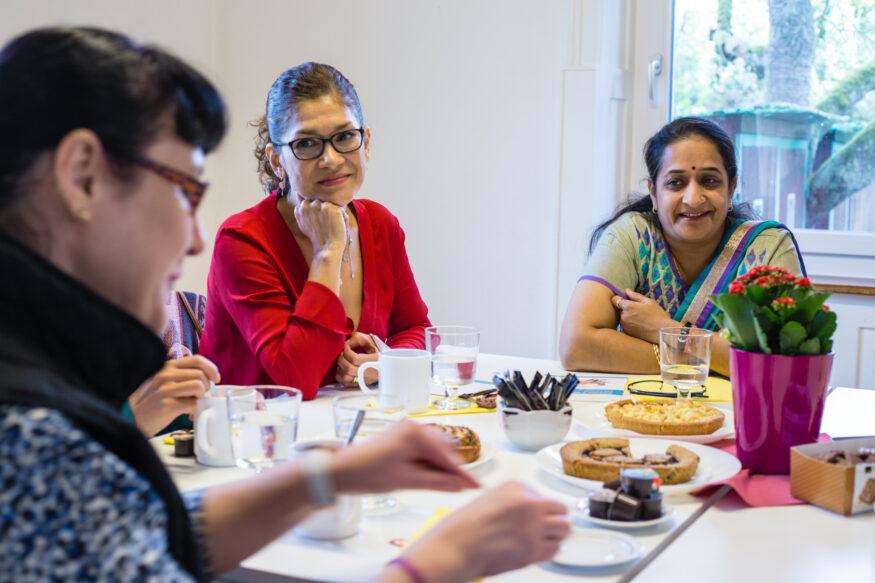 Café Santés geführt von Freiwilligen